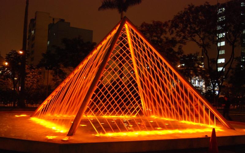 Parque de las Aguas, Su ve Işık Oyunları