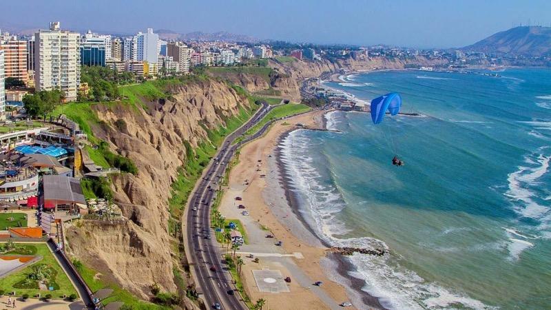 Miraflores, Peru Yamaç Paraşütü