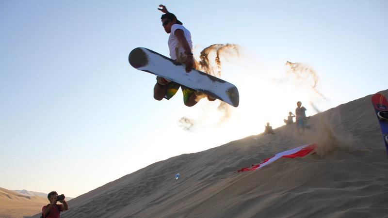 Peru Sandboarding