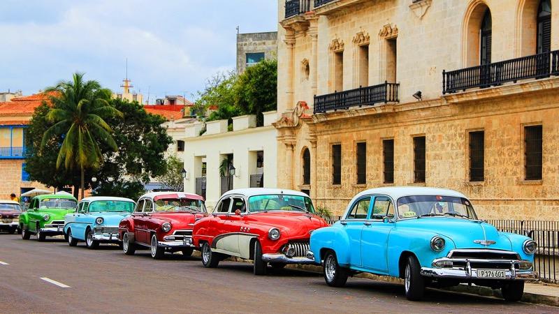 Küba Sokakları ve Havana