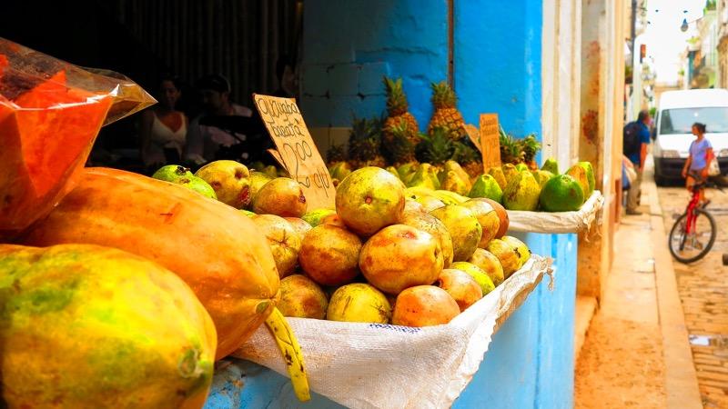 Küba Mutfağı ve Küba Meyveleri