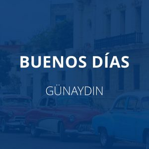 İspanyolca Günaydın, Buenos dias